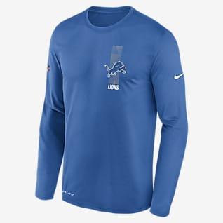 Nike Legend (NFL Lions) Men's Long-Sleeve T-Shirt