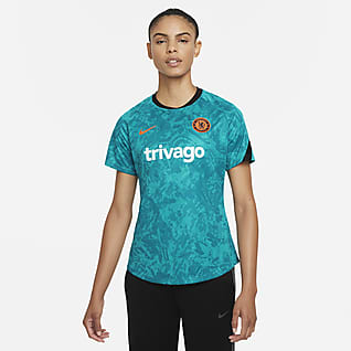Chelsea F.C. Women's Nike Dri-FIT Pre-Match Football Top