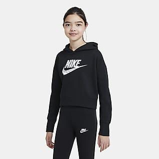 Nike Sportswear Sweat à capuche court pour Fille plus âgée