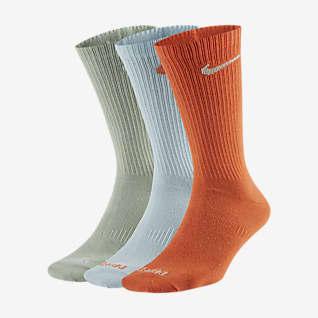 Nike Everyday Plus Lightweight Женские носки до середины голени для тренинга (3 пары)