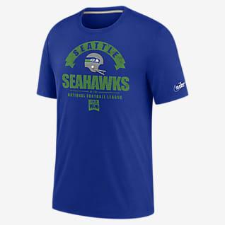 Nike Historic (NFL Seahawks) Men's Tri-Blend T-Shirt