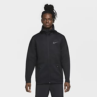 Nike Sweat à capuche de training à zip pour Homme