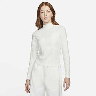 Nike Sportswear Icon Clash Women's Mock Long-Sleeve Top