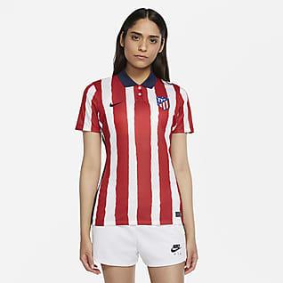 Atlético de Madrid 2020/21 Stadium (hemmaställ) Fotbollströja för kvinnor