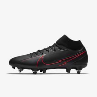 Nike Mercurial Superfly 7 Academy SG-PRO Anti-Clog Traction Футбольные бутсы для игры на мягком грунте
