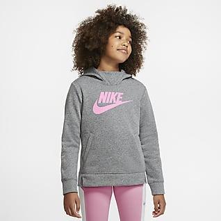 Nike Sportswear Kapucnis, belebújós pulóver lányoknak