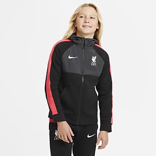 Liverpool FC Sweat à capuche et zip pour Enfant plus âgé