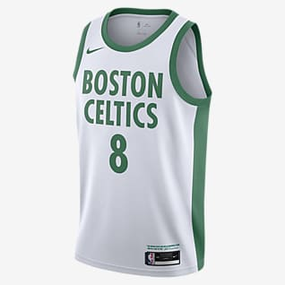 Kemba Walker Boston Celtics City Edition Maillot Nike NBA Swingman