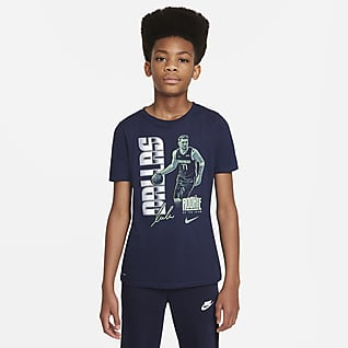 Luka Dončić Select Series Nike NBA-T-shirt til større børn