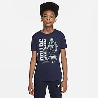 Luka Dončić Select Series T-shirt dla dużych dzieci Nike NBA