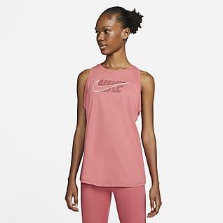 Nike Dri-FIT Icon Clash Camiseta de tirantes de entrenamiento con estampado - Mujer