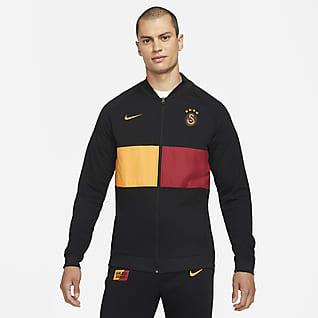 Galatasaray Męska dresowa bluza piłkarska z zamkiem na całej długości