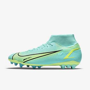 Nike Superfly 8 Academy AG 男/女人造草地足球鞋