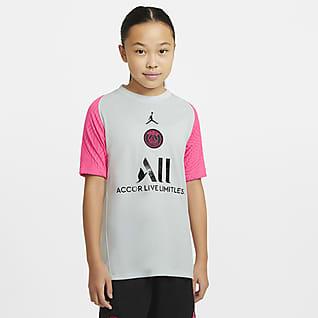 Paris Saint-Germain Strike Игровая футболка с коротким рукавом для школьников