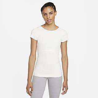 Nike Yoga Luxe Camiseta de manga corta para mujer