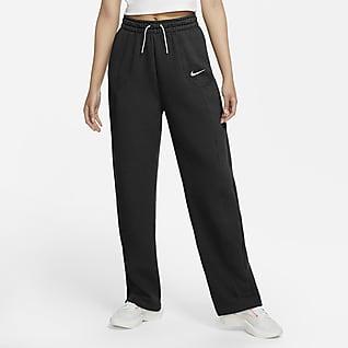 Nike Sportswear Tech Fleece Γυναικείο παντελόνι με ειδική σχεδίαση και ζακάρ μοτίβο σε όλη την επιφάνεια