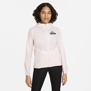 Nike Shield Chamarra para carreras de sendero para mujer
