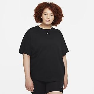 Nike Sportswear Essential Top oversize a manica corta (Plus size) - Donna