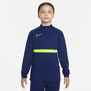 Nike Dri-FIT Academy Fodboldtræningstrøje til store børn