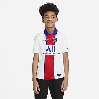 Paris Saint-Germain 2020/21 Stadium de visitante Camiseta de fútbol para niños talla grande