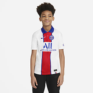 Paris Saint-Germain 2020/21 Stadium Away Older Kids' Football Shirt