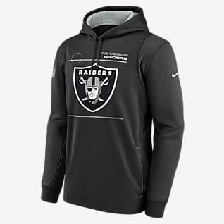 Nike Therma Sideline (NFL Las Vegas Raiders) Men's Pullover Hoodie
