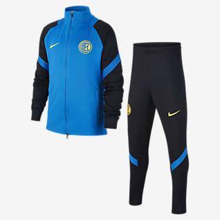 Inter Milan Strike Футбольный трикотажный костюм для школьников