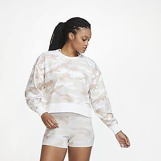 Nike Dri-FIT Get Fit Haut de training camouflage pour Femme