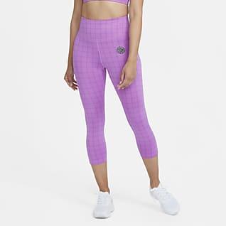 Nike Epic Fast Femme เลกกิ้งวิ่งเอวปานกลาง 5 ส่วนผู้หญิง