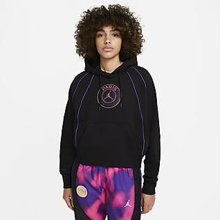 Paris Saint-Germain Pullover-hættetrøje til kvinder
