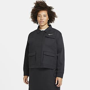 Nike Sportswear Swoosh Veste pour Femme (grande taille)