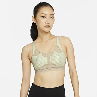 Nike Swoosh UltraBreathe 女款中度支撐型襯墊運動內衣