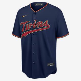MLB Minnesota Twins (Jorge Polanco) Men's Replica Baseball Jersey