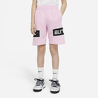 Nike Elite Big Kids' (Boys') Graphic Basketball Shorts