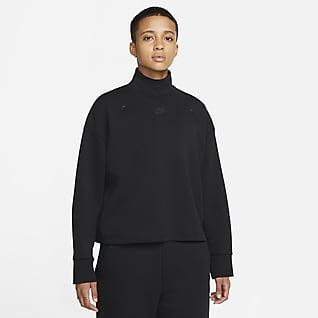Nike Sportswear Tech Fleece Женская толстовка с высоким воротником