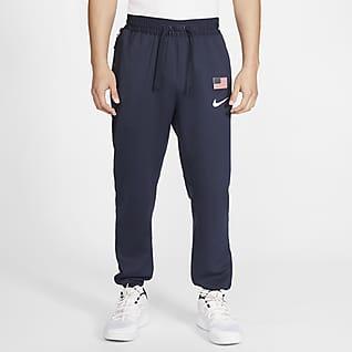 USA Nike Therma Flex Showtime Pánské basketbalové kalhoty