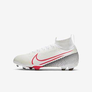 Nike Jr. Mercurial Superfly 7 Elite FG Kids' Firm-Ground Football Boot