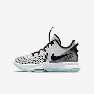 LeBron Witness 5 Big Kids' Basketball Shoe