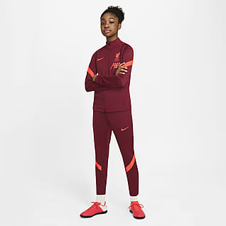 Liverpool F.C. Strike Older Kids' Nike Dri-FIT Football Tracksuit
