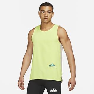 Nike Dri-FIT Rise 365 Camiseta de tirantes para hombre para carreras en sendero