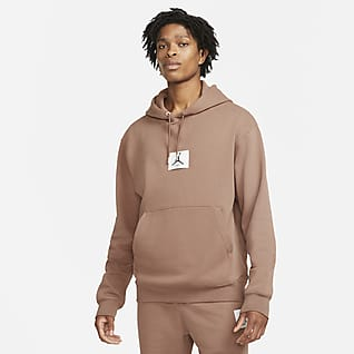 Jordan Essentials Sudadera con gorro de tejido Fleece para hombre Statement