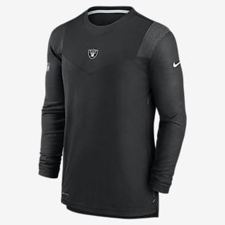 Nike Dri-FIT Sideline Player UV (NFL Las Vegas Raiders) Men's Long-Sleeve T-Shirt