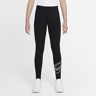 Nike Sportswear Favourites Older Kids' (Girls') Graphic Leggings