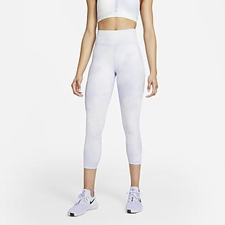 Nike One Icon Clash Women's Mid-Rise Crop Leggings