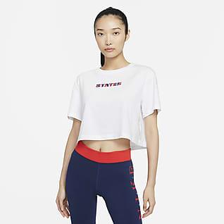 U.S. Women's Crop Soccer T-Shirt
