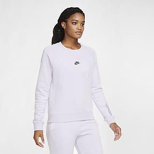 Nike Sportswear Dámská flísová mikina s kulatým výstřihem
