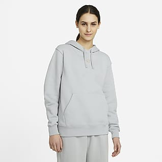 Nike Sportswear Fleecehettegenser til dame