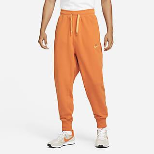 Nike Sportswear Męskie klasyczne spodnie z dzianiny