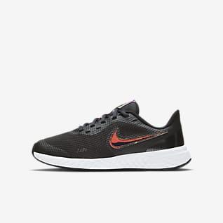 Nike Revolution 5 Power รองเท้าวิ่งเด็กโต