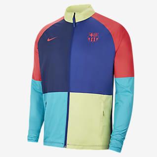 FC Barcelona Academy AWF Fotbollsjacka för män